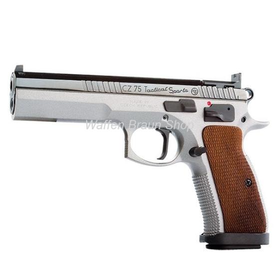 CZ 75 TS Tactical Sport Dual-Tone 9mm Luger
