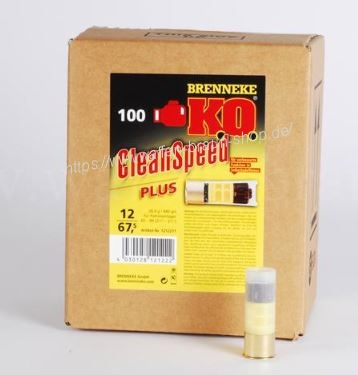 BRENNEKE 12/67,5 KO Clean Speed PLUS 28,4g 100 STK#1212211
