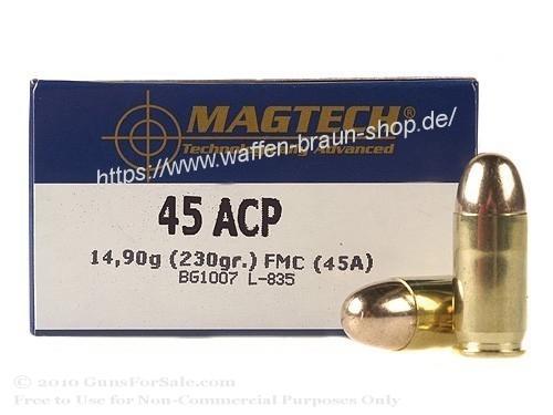 Magtech 45AUTO FMJ 230GRS A50  #45A