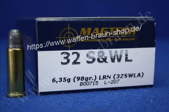 Magtech.32S&W LRN 98GRS A50 #32SWLA
