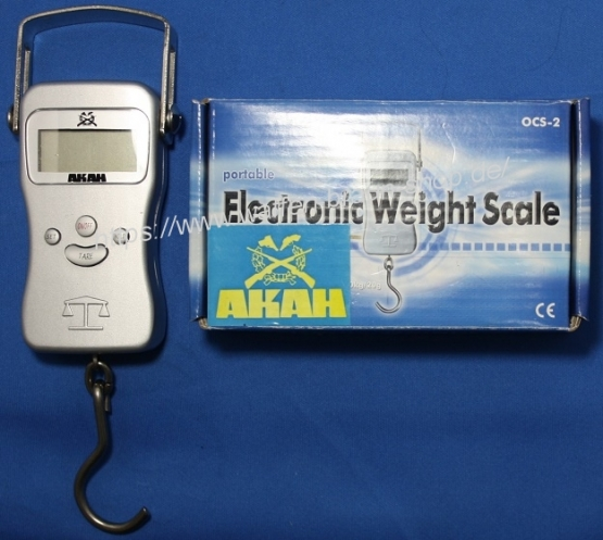 AKAH Portable Electronic Weight Scale OCS-2