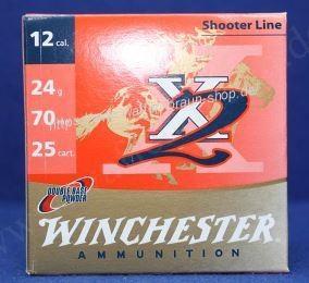 Winchester X2, 12-70, 12mm, 24g, P9, 2,00mm, 25 Stück