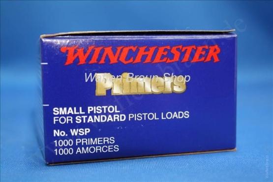 Winchester PRIMER,SMALL REGULAR PISTOL #1-1/2 - ,100 Stück