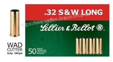 S+B .32S+W long LWC 100 grain. 50St
