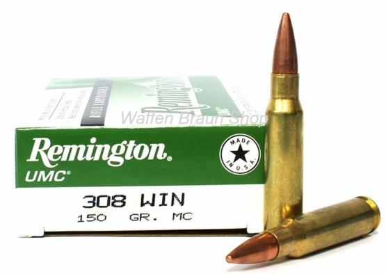 Remington UMC .308 Win VM MC 150 grain 20 Stück #L308W4