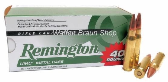 Remington UMC .308 Win VM MC 150 grain 40 Stück#L308W4B