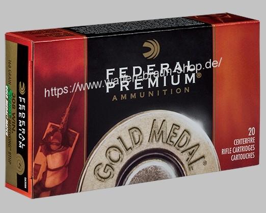 Federal .308 Win 168 grain Sierra HPBT 20 Stück