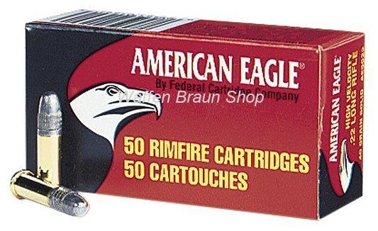 FEDDERAL AMERICAN EAGLE 5022 KK-PATRONEN HV  .22LR  50 Stück