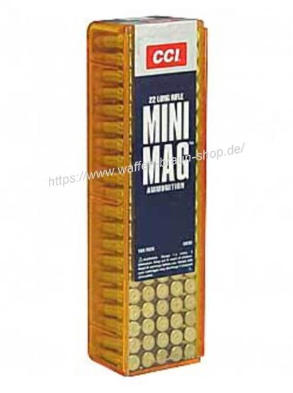 CCI 0030 .22LR MINI MAG HS 40 grain verkupfert 100 Stück