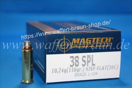 Magtech.38SPL SJSP 158GRS A50  #38C