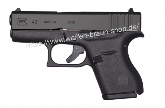 Waffen braun shop glock pistole mod 43 9mm luger