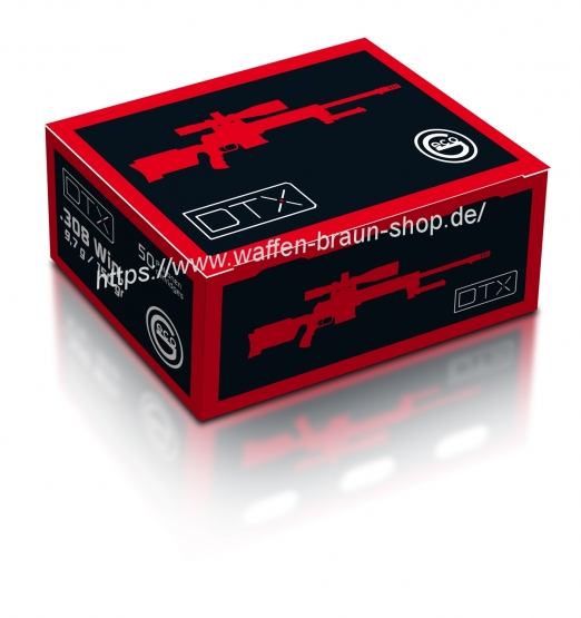 GECO Munition  .308 WIN VM DTX 9,7G 150GR 50ER