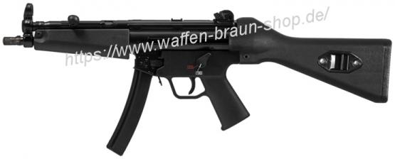 HK SLK SP5, Kal. 9 mm Luger, m. Schulterstütze, schwarz, Lauflänge: 22,5 cm , Gesamtlänge: 67,5 cm