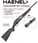 Haenel Jaeger 10 Pro Compakt .30-06 Komplettset mit Aufkippmontage und AKAh ZF 2,5-10x56 4LP