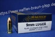 Magtech 9MM LUG FMJ 124GRS 8,03g A50  #9B