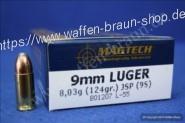 Magtech 9MM LUG JSP124GRS  A50  #9S