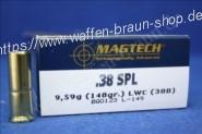 Magtech.38SPL LWC 148GRS A50   #38B