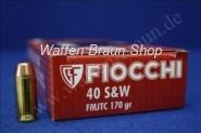 FIOCCHI - Pistolenpatronen .40 S+W MA-F VM TC / 11,02 G / 170 GRS