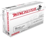 Winchester 9mm LUGER, USA,115gr, FMJ, 50