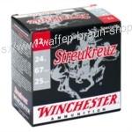 Winchester STREUKREUZ, 12-67, 8mm, 24g, P9, 2,00mm, 25 Stück