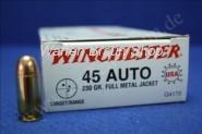 Winchester .45ACP, USA, 230gr, FMJ,100 STK