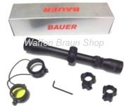 Bauer HJB 3-9x40 (Duplex), inkl. Montageringe 25,4 mm für 11 mm Schiene