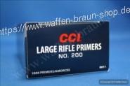CCI 200 Zündhütchen Large Rifle 100 Stück