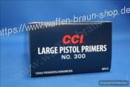 CCI 300 Zündhütchen Large Pistol 100 Stück