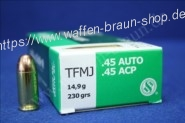 S+B .45ACP TFMJ NON-TOX 230grs. 50St