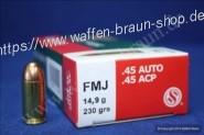 S+B .45ACP FMJ 230grs. 50St