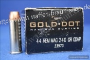 Speer Gold Dot .44 Pistol HP 240 grain 20 Stk.#23973