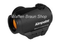 Aimpoint Micro H-1 mit 2 MOA ACET Black Semi Matte