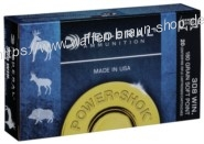 FED 308B .308 WIN 180GR POWER-SHOK SOFT POINT 20Stk.