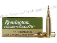 Remington .17 rem. Accu Tip #29162 20 Stück