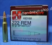 Hornady .222 remington SP 50 grain #83168 50 Stück