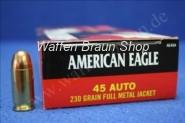 Federal .45 ACP American Eagle FMJ 230 grain #AE45A 50 Stück