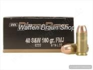 CCI Blazer-Brass .40 S&W FMJ 180 grain 50 Stück #5220