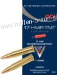 CCI 17 HMR TNT Jacket Hollow Point ,17 Grain #0053