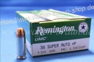 Remington UMC .38 Super Auto +P MC 130 grain #L38SUP