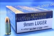 Magtech 9MM LUG FMJ 115GRS 7,45g A50  #9A