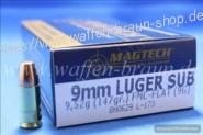 Magtech 9MM LUG FMJSUB 147GRS 9,52g A50 #9G