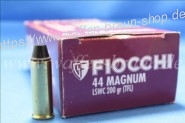 FIOCCHI - Revolverpatronen .44 MAGNUM LSWC TFL / 12,96 G / 200 GRS