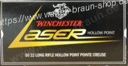 Winchester 22LR,LASER,37gr,CP HOLLOW POINT 50 Stück