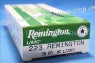 Remington UMC .223 Rem MC 55 grain 20 STK #L223R3