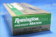 Remington .223 BTHP 52 grain 20 Stk #RM223R2