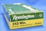 Remington .243 Win. Power Lokt HP 80 grain 20 Stk.#R243W2