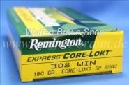 Remington .308 Win. Core Lokt 180 grain 20 Stk.,#R308W2
