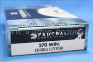 Federal .270 WIN 130GR-SHOK SOFT POINT #270A