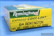 Remington .6mm Core Lokt PSP 100 grain,20 Stk. #R6mm4