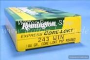 Remington .243 Win. Core-Lokt 100 grain, 20 Stk.#R243W3